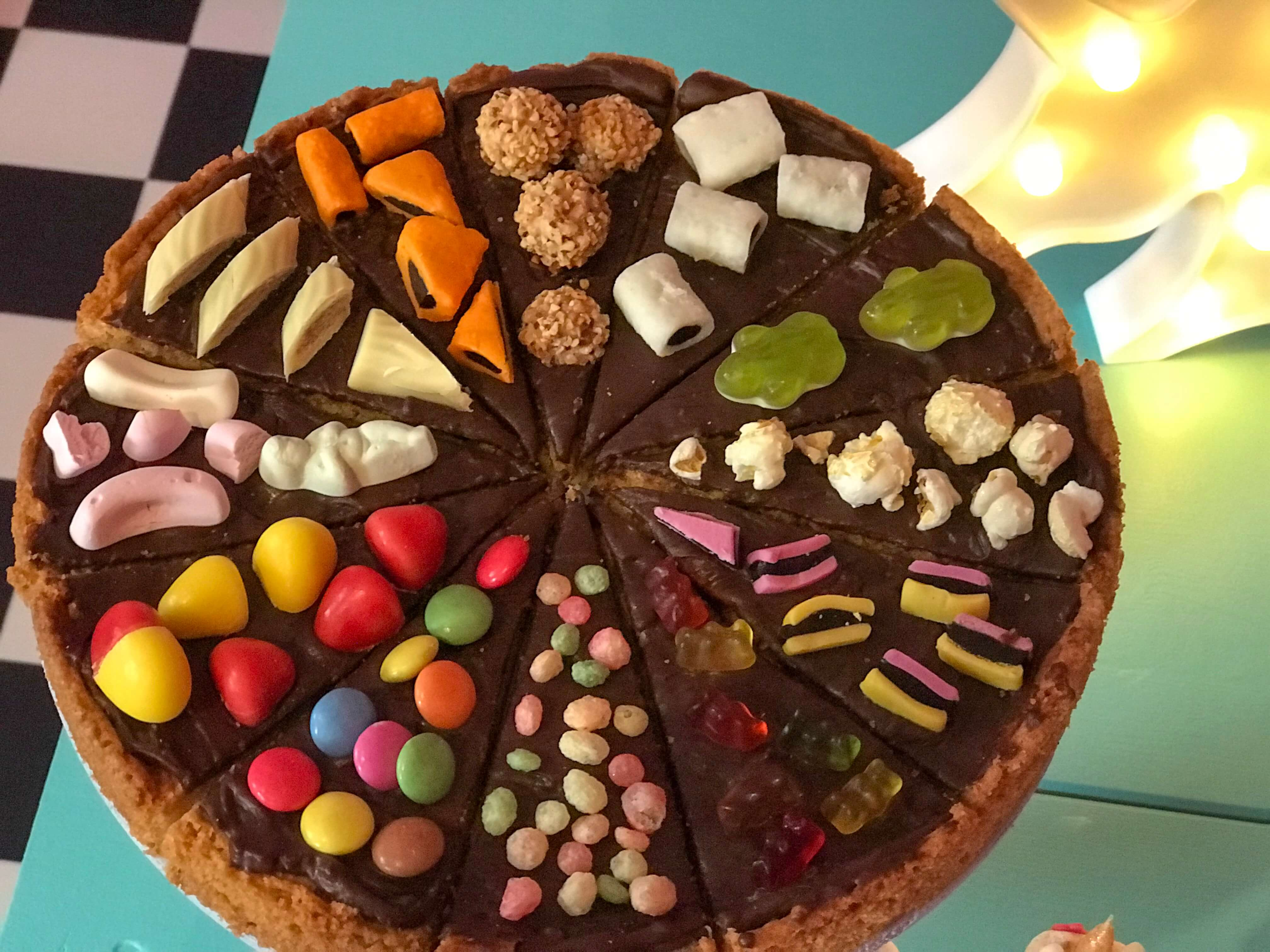 American Cookie Pizza Evelyn Im Tortenland