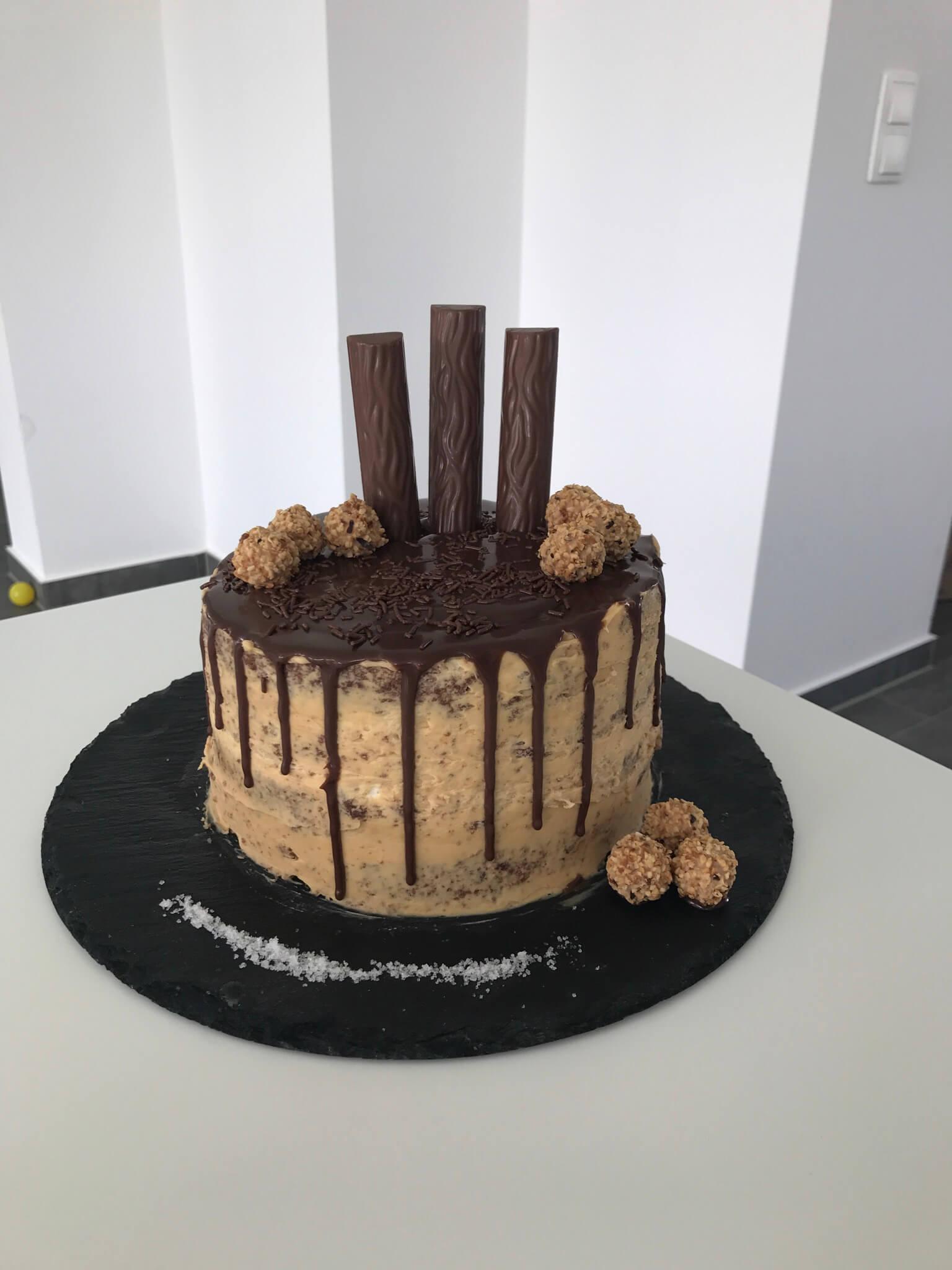 Mein Bestes Basic Grundrezept Fur Das Dripping Eines Drip Cakes