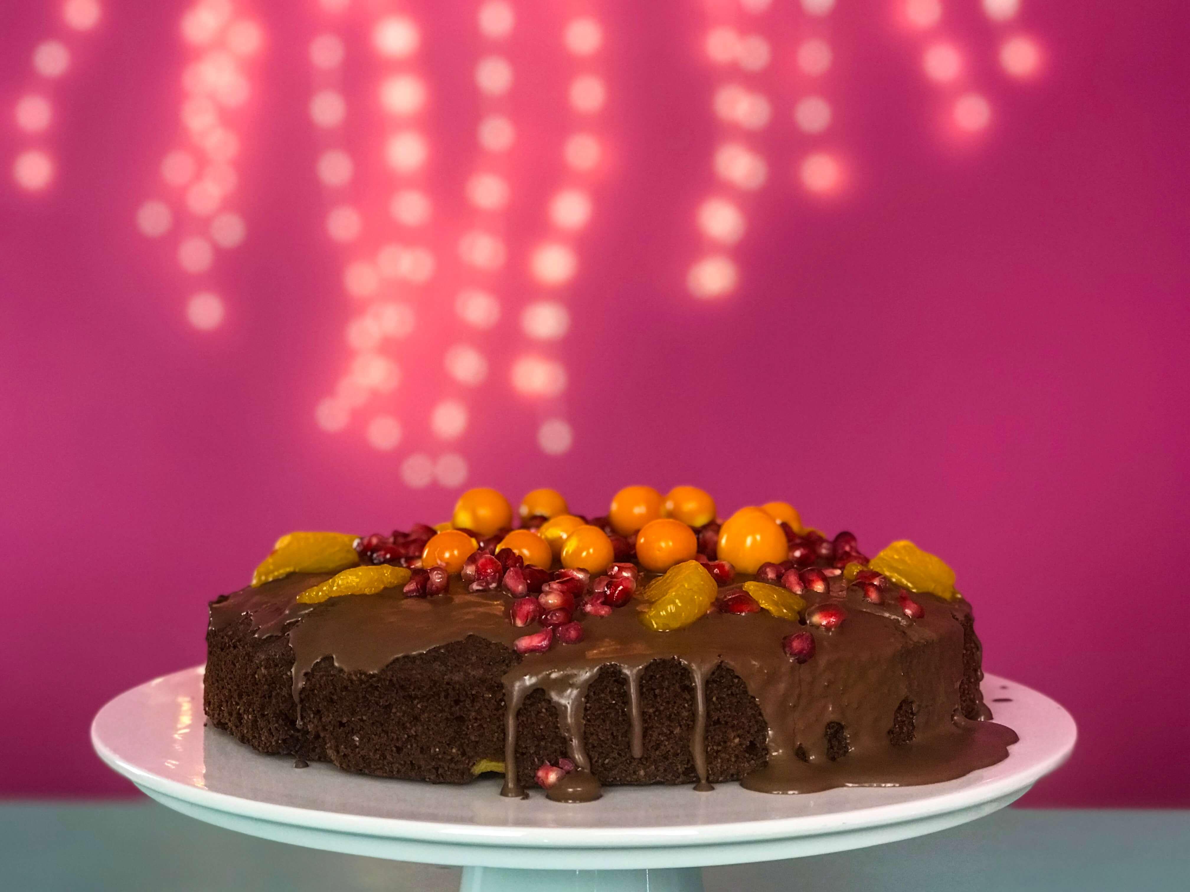 Fruchtiger Kuchen Fur Weihnachten Evelyn Im Tortenland